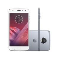 Smartphone Motorola Moto Z2 Play XT1710-07 Desbloqueado GSM 64GB Dual Chip Android 7.1 Azul Topázio
