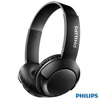 Fone de Ouvido Philips Headphone Bluetooth Preto SHB3075