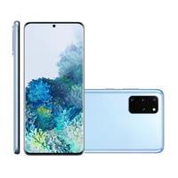 Smartphone Samsung Galaxy S20+ SM-G985F Desbloqueado Dual Chip 128GB Android 10 Cloud Blue + Relógio Galaxy Watch Active 2