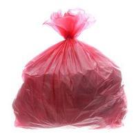 Saco para Lixo com Capacidade de 100 Litros Vermelho com 100 Unidades Itaquiti