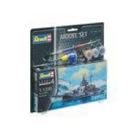 Kit De Montar 1:1200 Model Set Tirpitz Revell