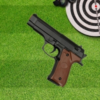 Pistola Airsoft 6mm G22 Spring Full Metal Galaxy
