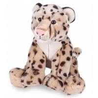 Pelúcia Moas Leopardo Sentado