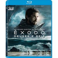 Êxodo: Deuses e Reis Blu-Ray 3D + Blu-Ray - Multi-Região / Reg.4