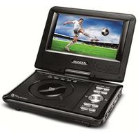 DVD Player Portátil Mondial Play Action D 08 com Tela LCD 7