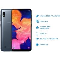 Smartphone Samsung Galaxy A10 SM-A105M 32GB Desbloqueado Dual Chip GSM Android Pie 9.0 Preto