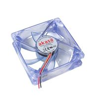 Fan para Gabinete AKASA 80mm AK170CB-4BLS LED Azul