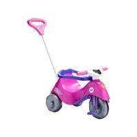 Triciclo Infantil Calesita Com Empurrador Passeio E Pedal Lelicita