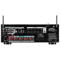 Receiver Denon Avr-S650h 5.2Ch 4K Uhd Hdr10 Bluetooth Usb Wifi Preto/110V