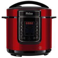 Panela de Pressão Digital Vermelho Philco 6 Litros 127V
