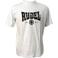 Camiseta Rudel Básica Serial Fight MMA Branca