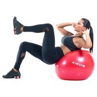 Bola de Ginástica Kikos Fitball 55cm Vermelha
