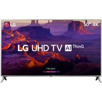 Smart TV LED 50 4K LG 50UK6510 Conversor Digital