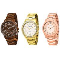 d11db4fe184 Relógio Lince LRB4184L M2MX Feminino Analógico + Relógio Lince ...
