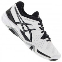 Tênis Asics Gel Resolution 6 Masculino Branco e Preto