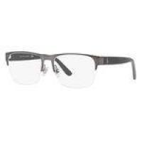 Armação Oculos Grau Polo Ralph Lauren Ph1188 9157 56 Grafite