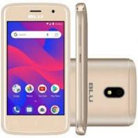 Smartphone Blu C4 Desbloqueado 8GB Dual Chip Android 8.0 Dourado