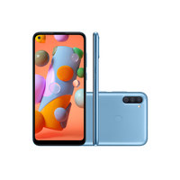 Smartphone Samsung Galaxy A11 64GB 4G Tela 6.4 Dual Chip Android 10 Azul