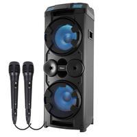 Caixa Acústica Philco PCX20000 2 Microfones Preta
