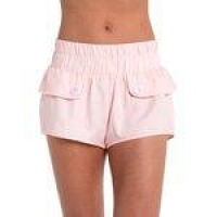 Shorts Tactel Candy Red Nose Rosa