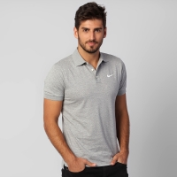 e424fa3207 Camisa Polo Nike Matchup Jersey Masculina Cinza