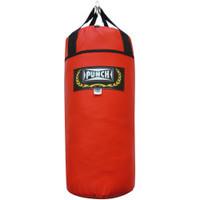 Saco de Pancada Punch Vermelho 90cm