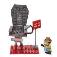Playset Mega Bloks Médio Minions Cadeira Vibratória Mattel
