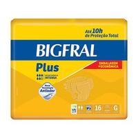 Fralda Geriátrica Bigfral G 16 Unidades