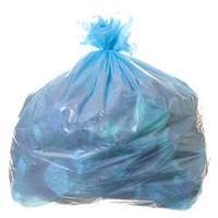 Saco para Lixo com Capacidade de 100 Litros Azul com 100 Unidades Itaquiti