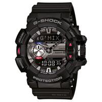 Relógio G-Shock GBA-400 Analógico Masculino Preto