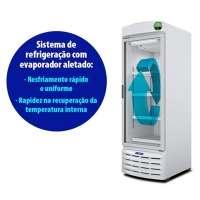 Refrigerador Porta De Vidro Metalfrio VB52R 572 Litros Branco