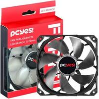 Cooler Fan Pcyes Fury F4 120mm Led Branco F4120LDBC