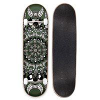 Skate Multilaser Longboard Bob Burquist ES036 Verde
