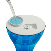 Umidificador Doméstico Ventisol Premium U-04 3,7 Litros Branco e Azul