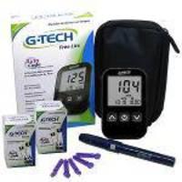 Kit Medidor De Glicose G-Tech Free Lite com 100 Tiras