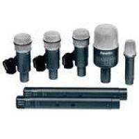 Drkb5c2 - Kit 7 Microfones C/ Fio P/ Instrumentos Drk B5 C2 - Superlux