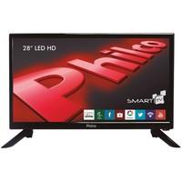 Smart TV LED 28'' Philco Backlight D-LED PH28N91DSGW Conversor Digital
