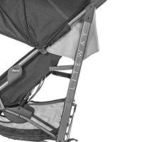 Carrinho De Bebê Chicco Jet Black Liteway 3 Basic 22kg