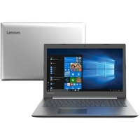 Notebook Lenovo Ideapad 330, Processador Intel Core i3 4GB 1TB Windows 10 Tela 15.6, Prata