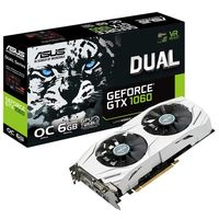 Placa de Vídeo ASUS GeForce GTX1060 Dual 6GB GDDR5 PCI-Express 3.0 DUAL-GTX1060-O6G