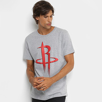 Camiseta NBA Houston Rockets Big Logo Masculina - Masculino
