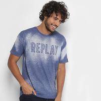 Camiseta Replay Devorê Masculina - Masculino