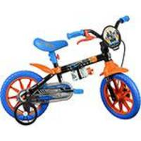 Bicicleta Caloi Hot Wheels Aro 12 Preto