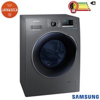 Lavadora & Secadora de Roupa Samsung Eco Bubble WD11J6410AX 11Kg Inox