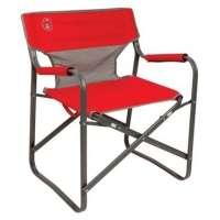 Cadeira Dobrável Steel Deck 110120019421 Vermelha Coleman