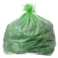 Saco para Lixo com Capacidade de 50 Litros Verde com 100 Unidades Itaquiti