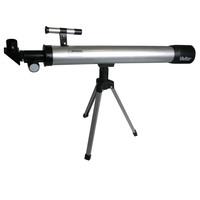 Kit Telescópio e Microscópio Vivitar VIVTELMIC30 Preto e Prata