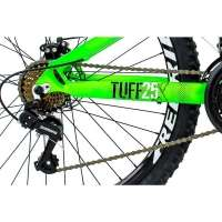 Bicicleta Viking Freeride Aro 26 Freio A Disco 21 Velocidades Câmbios Shimano Verde Neon
