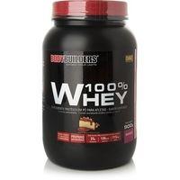 Suplemento Bodybuilders 100% Whey Morango 900g