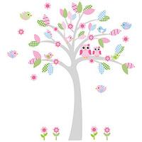 Adesivo Decorativo de Parede Stixx com Árvore para Quarto Infantil